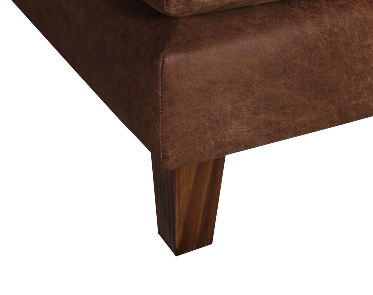 Sofa Modular Cuero Bonded Pata