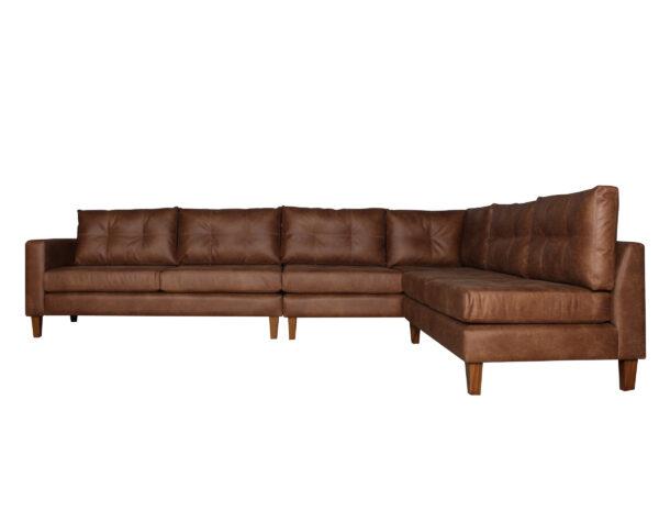 Sofa Modular Cuero Bonded Iso