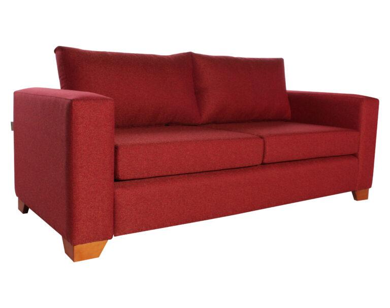 Sofá Thomas Chenille Fd Rojo 1