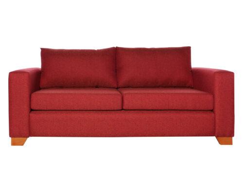 Sofá Thomas Chenille Fd Rojo