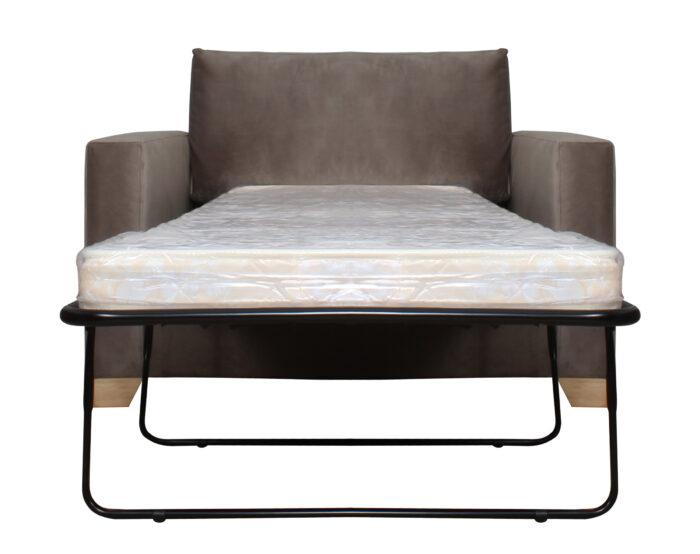 Sofa Cama 1 plaza Con brazos Abierto