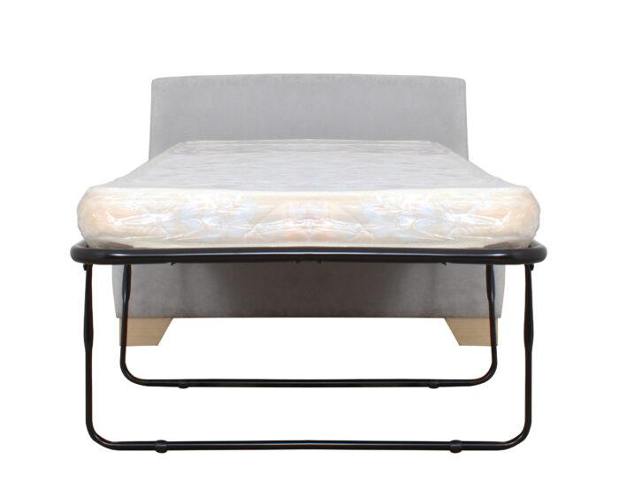 Sofa Cama1p Isabella Gris Claro Frente Abierto