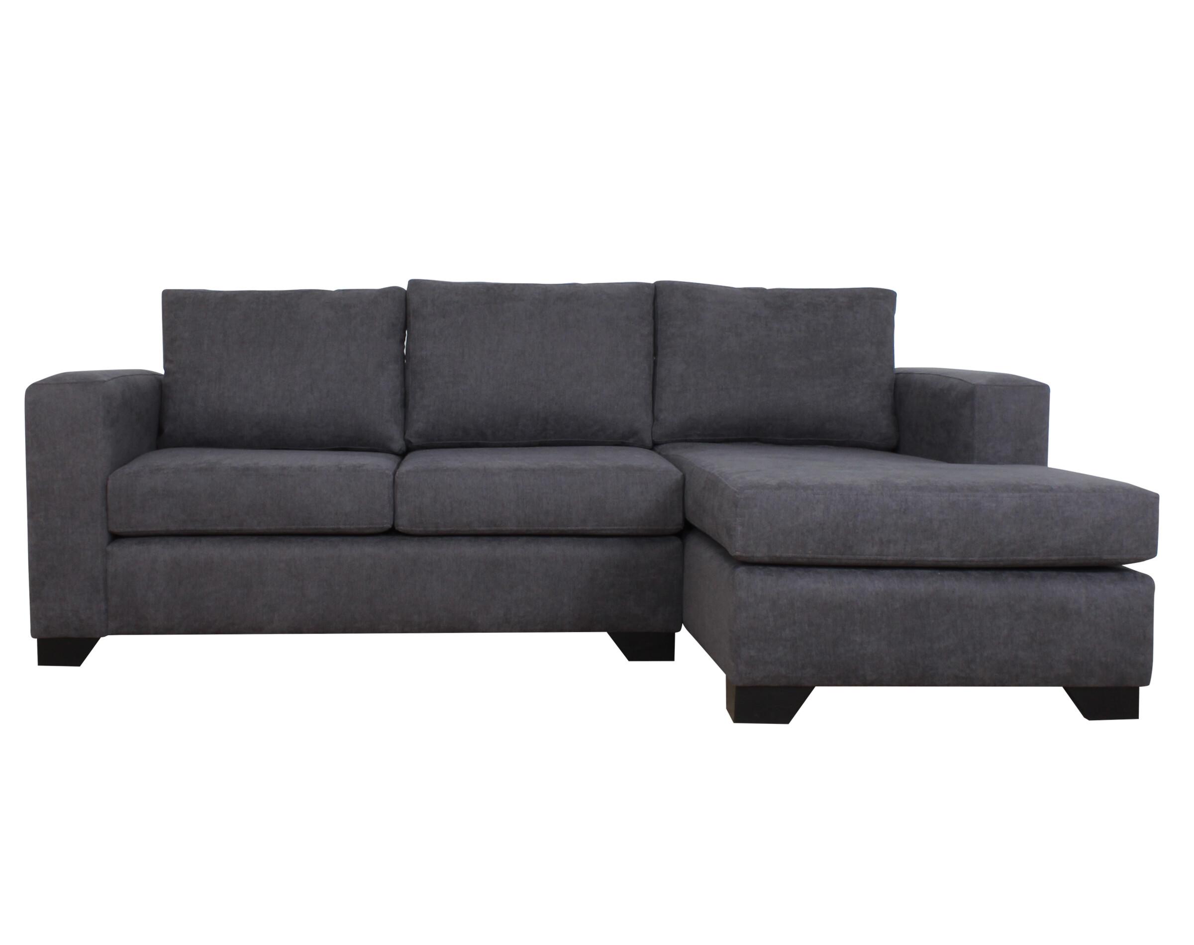 Sofa Seccional Monaco Derecho Mecha Gris