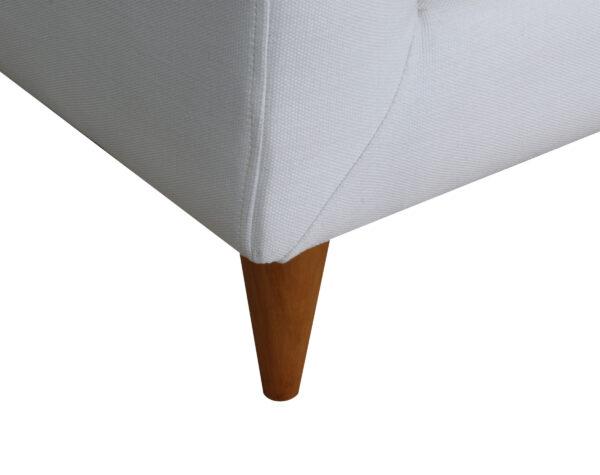 Sofa 2 Cuerpos Brazo Curva Pata