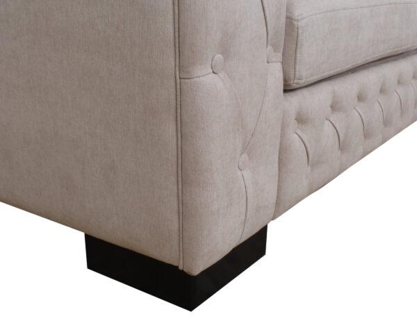 Sofa 3 Cuerpos Frente Capitone Detalle