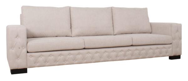 Sofa 3 Cuerpos Frente Capitone Iso1
