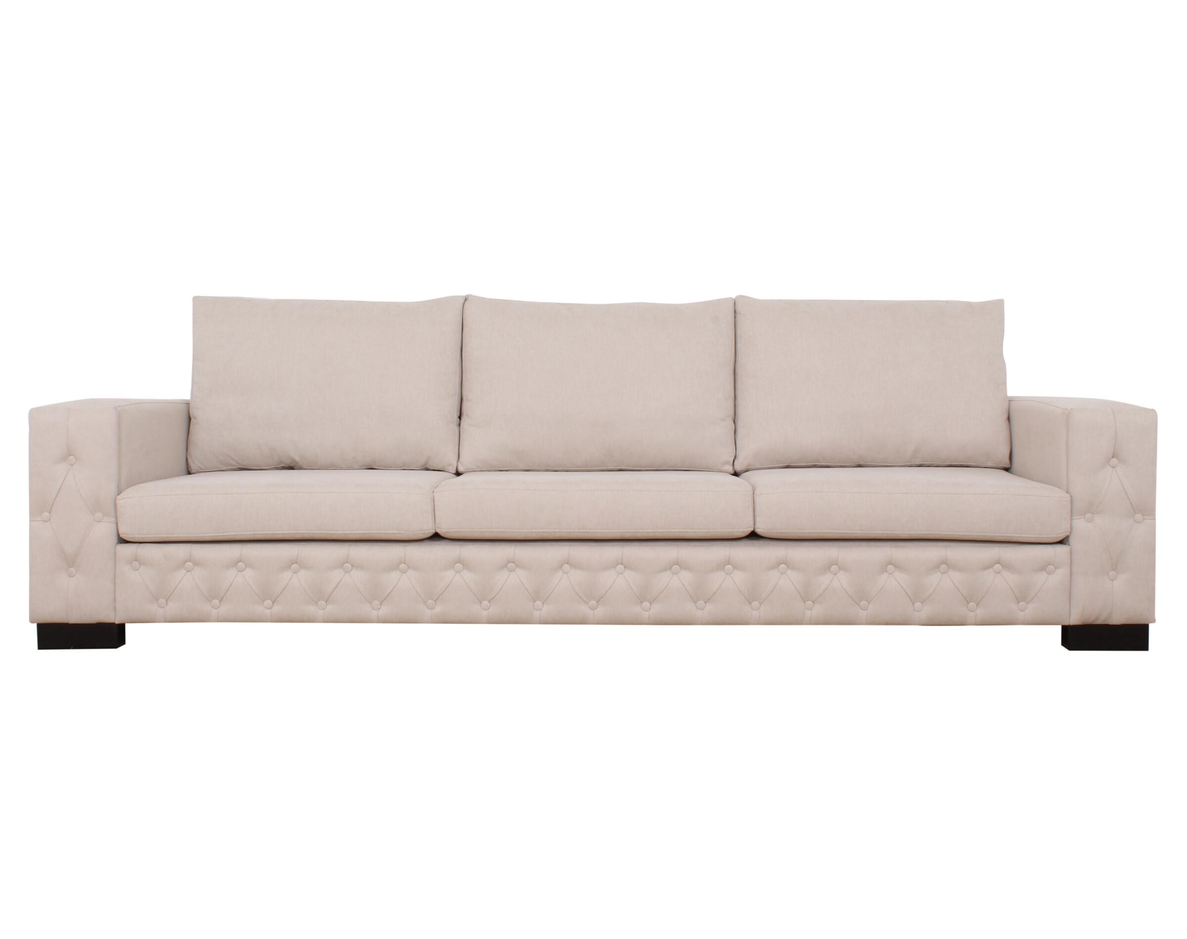Sofa 3 Cuerpos Frente Capitone