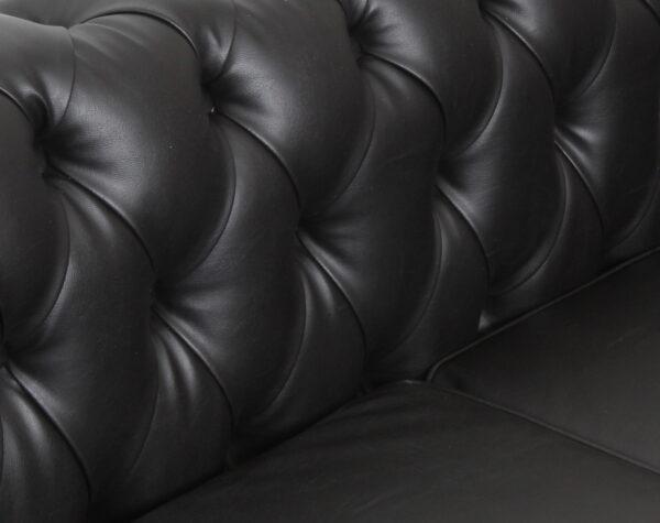 Sofa Chester Cuero Negro3