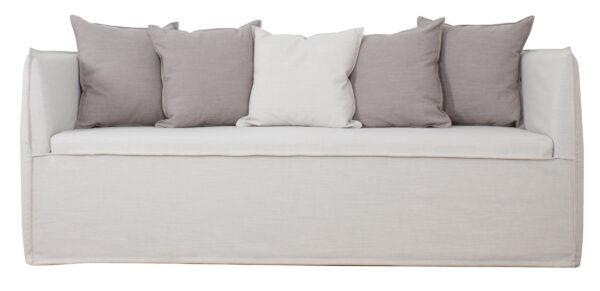 Sofa Con Funda Lino frente