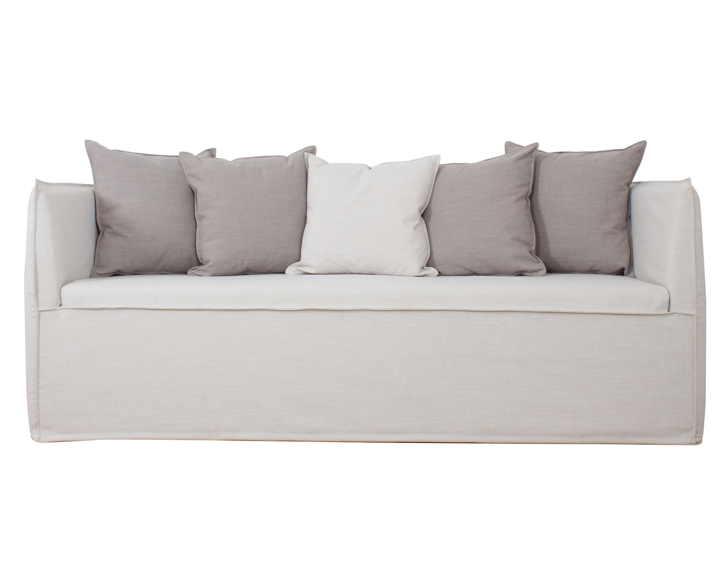 Sofa Con Funda Lino
