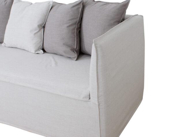 Sofa Con Funda Lino Detalle