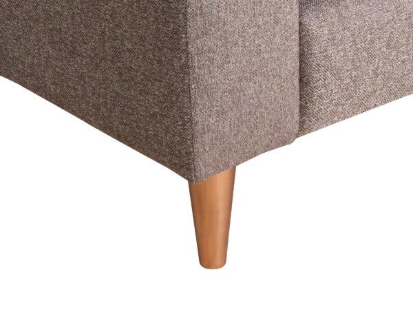 Sofa Tai 3c Pata Cobre Detalle