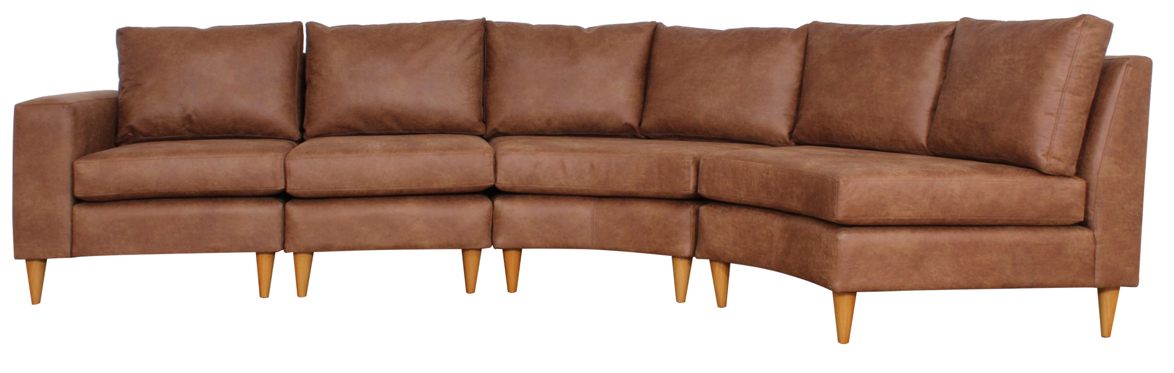 Sofa Curvo Bonded 70 22