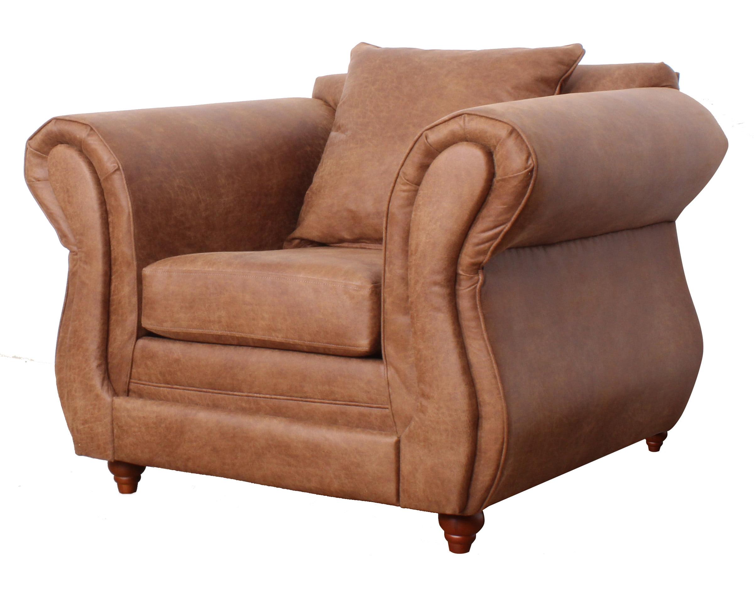 Sofa Lisboa Cuero Bonded 1c2