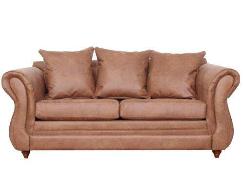 Sofa Lisboa Cuero Bonded 3c