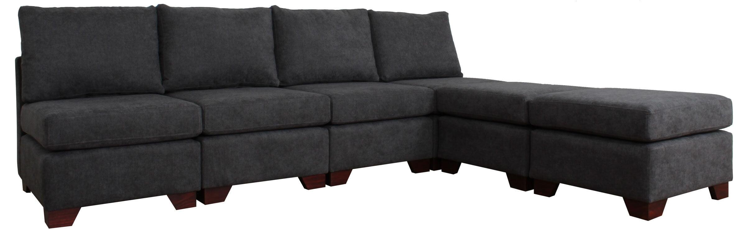 Sofa Modulado Mecha Gris 2
