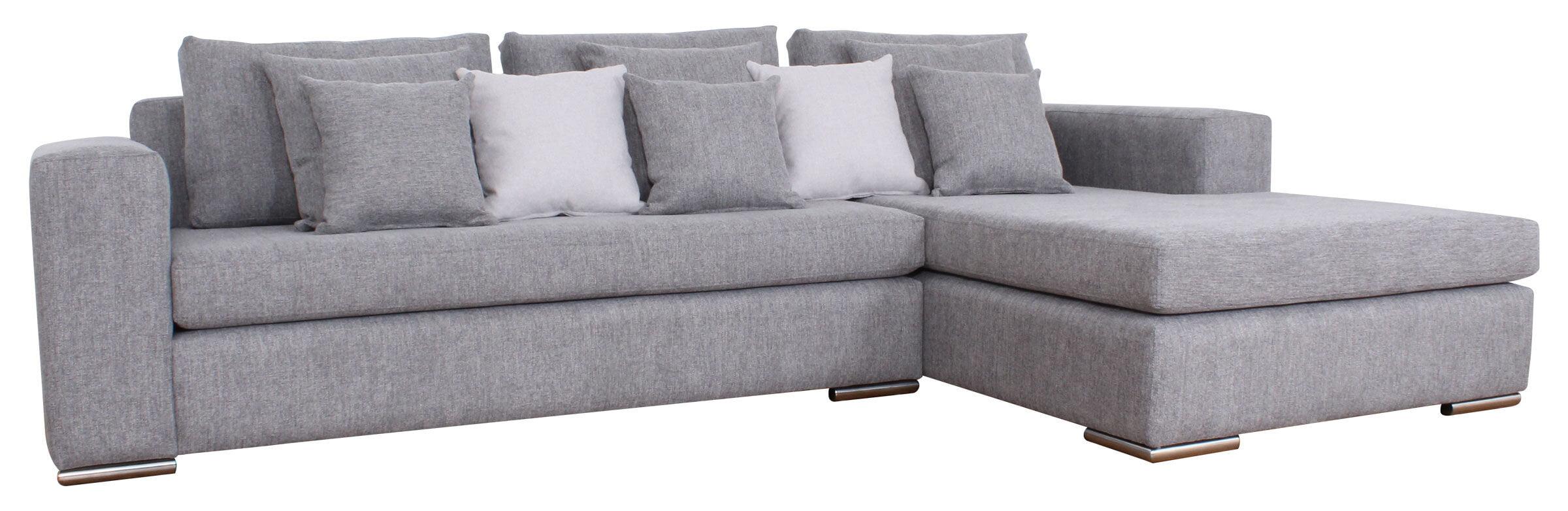 Sofa Secicnal Levante Gris