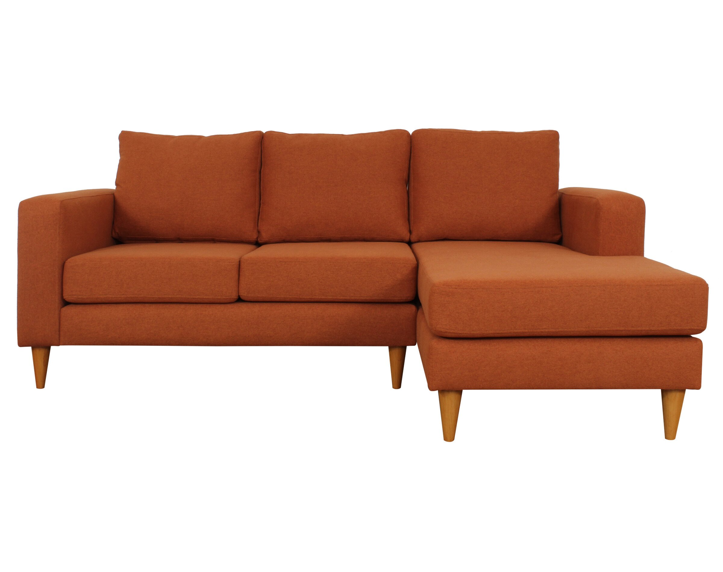 Seccional Tai Chenille Soft Orange 1