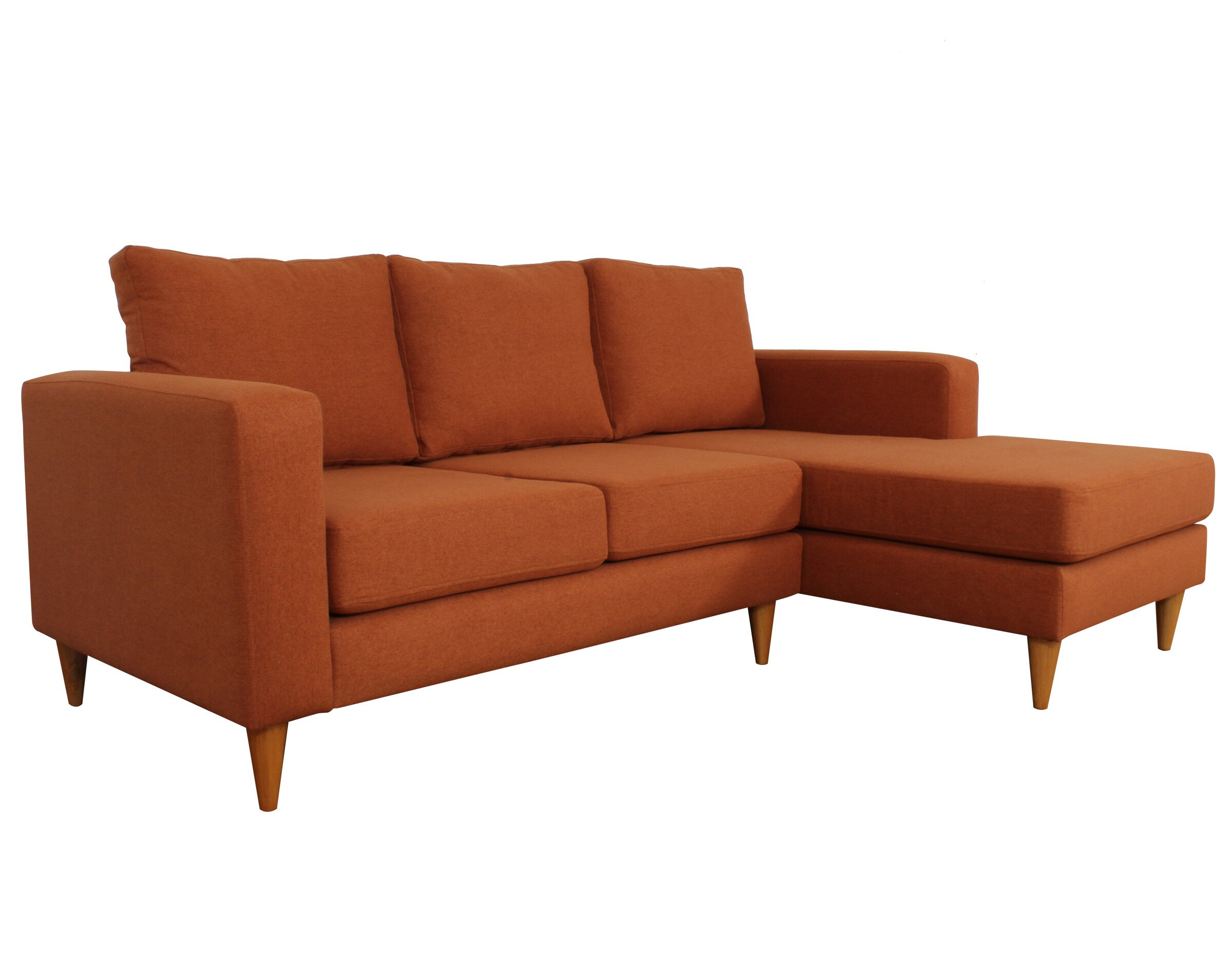 Seccional Tai Chenille Soft Orange 2
