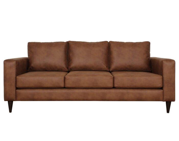 Sofa Tai 3c Cuero Bonded Frente