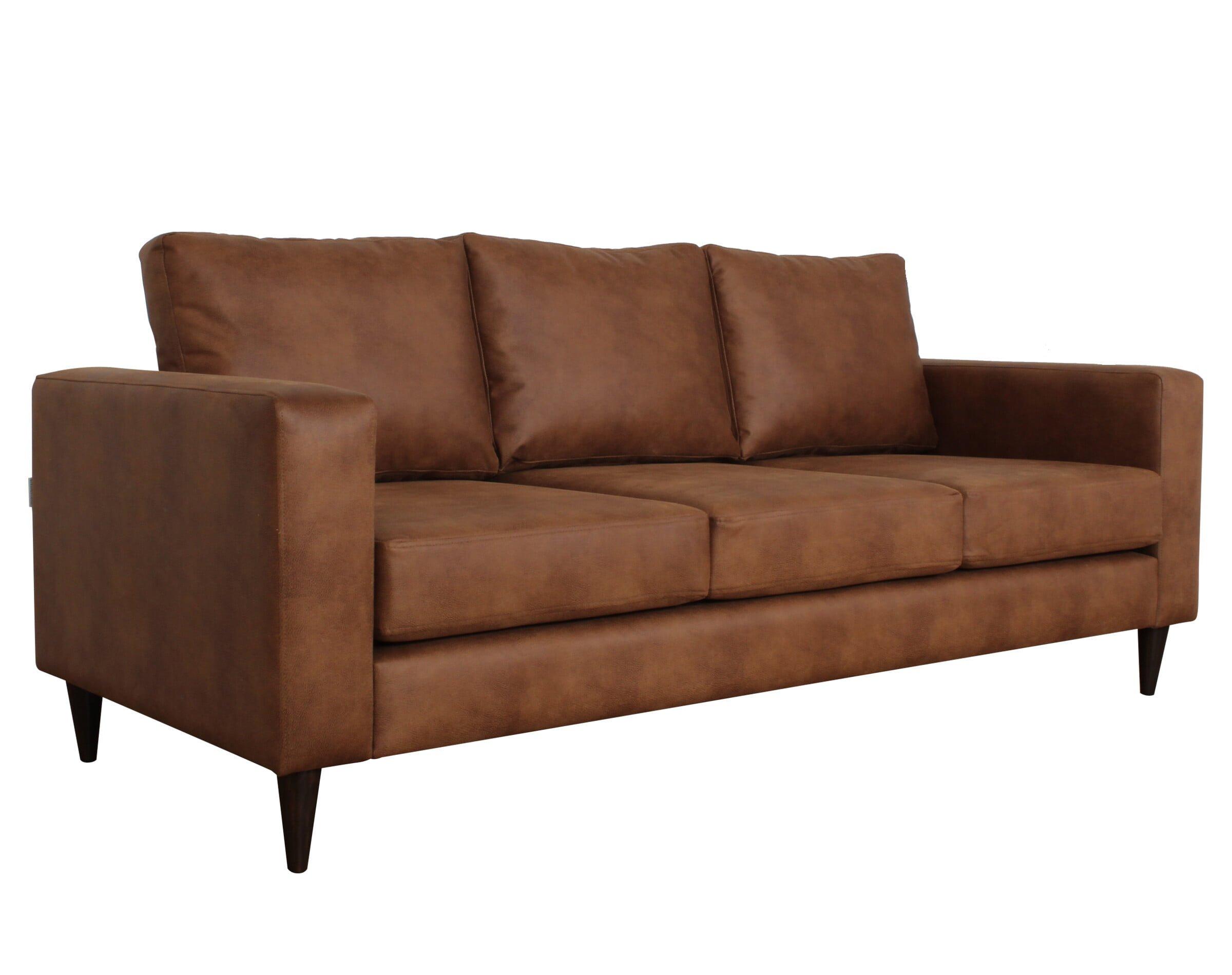 Sofa Tai 3c Cuero Bonded Iso