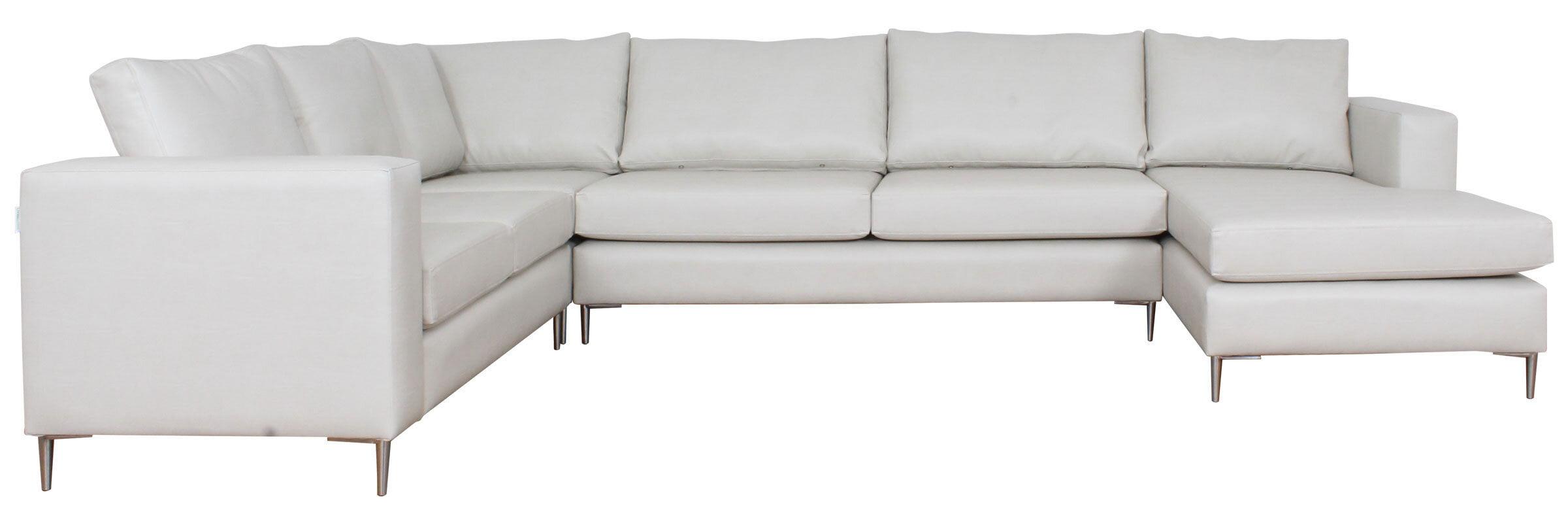 Sofa Modular Pu Blanco