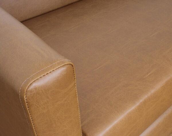 sofa 2c pu clean habano 4